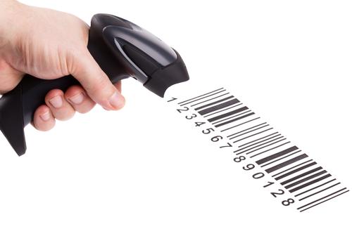 Scannung von Barcodes
